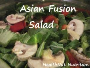 Asian Fusion Salad Image